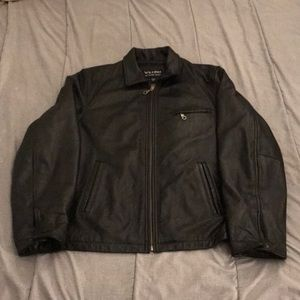 Wilson's Leather Leather Jacket Mens Size XLT